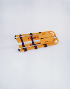 EXL Scoop Stretcher Folded