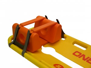 Head Immobiliser for a scoop stretcher