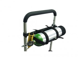 EZ Glide Evacuation Chair OXY cylinder holder